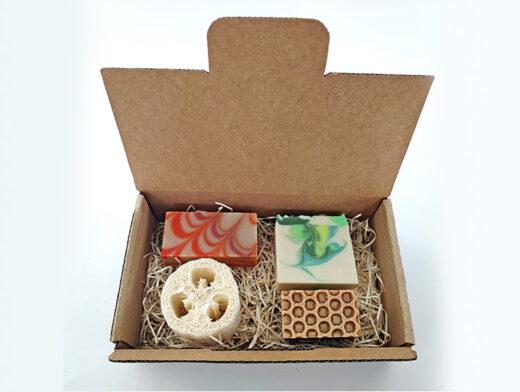 Pack de jabones naturales para regalo