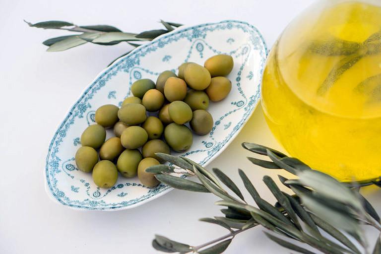 Jabón elaborado con aceite de oliva
