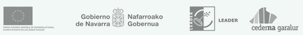 Este proyecto está subvencionado por Fondo Europeo FEADER y el Gobierno de Navarra