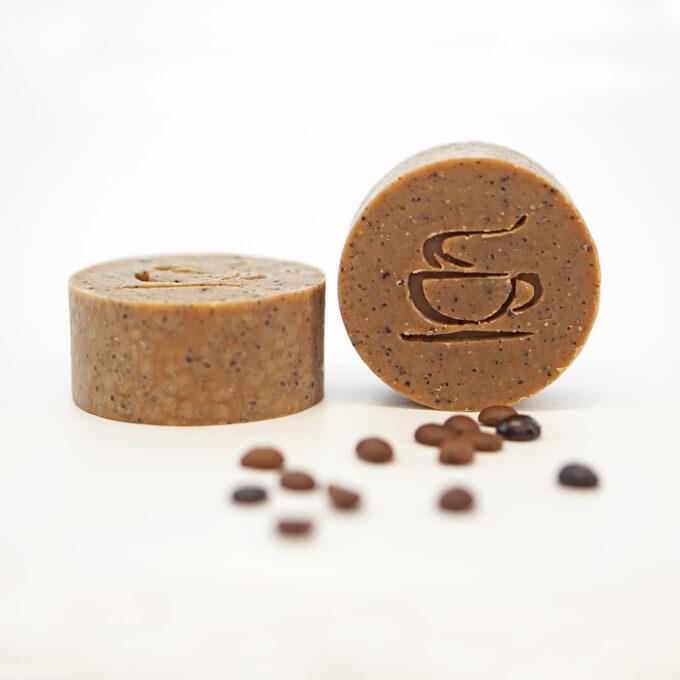 Jabón de café natural