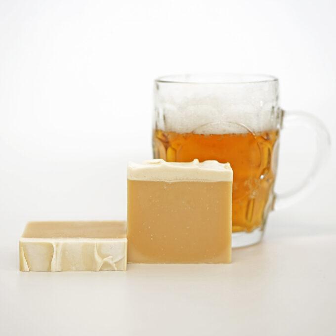 Jabón de cerveza artesano