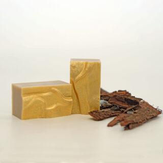 Jabón natural de corteza de tepezcohuite