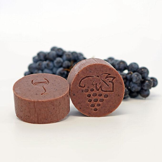 Jabón de vino elaborado de forma artesana